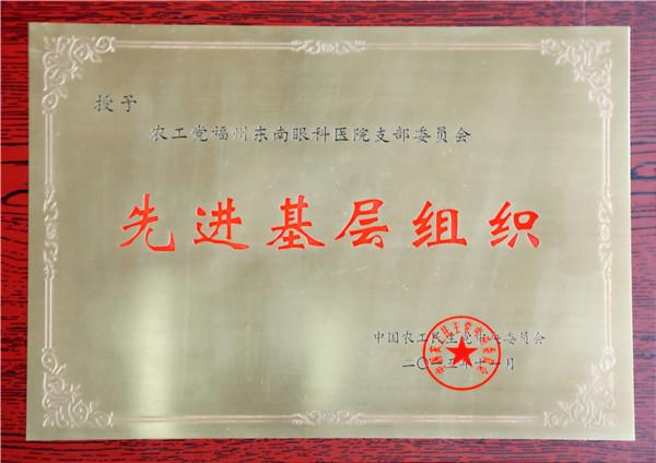 农工党全国先进基层党组织